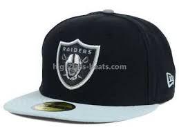 oakland raiders fitted hats new era 59fifty snapbacks team
