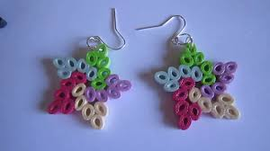 handmade paper earrings handmade jewelry paper quilling earrings not tutorial