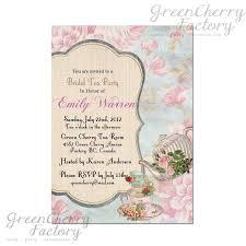 bridal shower tea party invitations invitation template garden party awesome bridal shower tea party