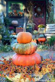 Corn Stalk Decoration Ideas A Fall Harvest Around The Potting Shed U2013 Home Is Where The Boat Is
