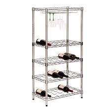 amazon com honey can do shf 03617 4 tier steel wire urban wine