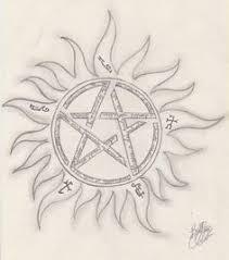 supernatural anti possession symbol holidays pinterest