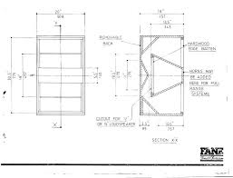 Bass Speaker Cabinet Design Plans Fane Folded Horn Plans Speakerplans Com Forums