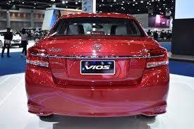Yaris Sedan 2008 2017 Toyota Yaris Sedan Vios Rear Showcased At Bims 2017