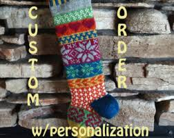 for 2018 personalized knitted set of 5