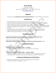 How To Write A Resume Without Experience Sample Resume Format For Call Center Agent Without Experience