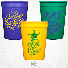 mardi gras cups mardi gras stadium cup party pack magnolia creative co