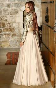 gaun muslim ide smart modifikasi baju sifon pesta wanita terbaru