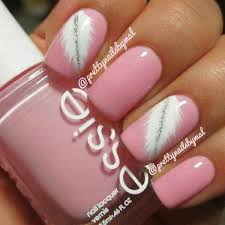 Pic Of Nail Art Designs 50 Lovely Pink And White Nail Art Designs