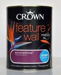 crown silk emulsion paint in antique cream used this to replace