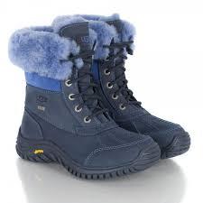 s ugg adirondack boot ii adirondack blue fabric walking boot