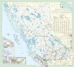 bc map davenport maps ltd