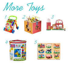 ultimate gift list for a 1 year old boy the pinning mama
