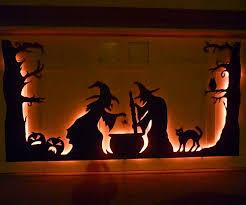 seasonal front door decoration inmyinterior halloween haammss