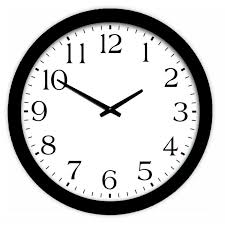 shop clocks at lowes com style selections analog round indoor wall clock