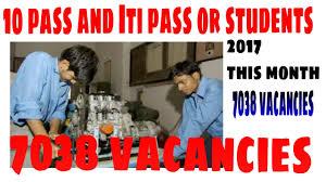 Iti Job Electrician 10 U0026 Iti Pass 7038 Vacancies Govt Jobs India Ordnance Factories