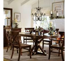pottery barn benchwright dining table with ideas hd pictures 6975