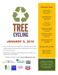 recycle your christmas tree at these upcoming events passyunk post