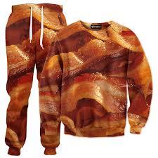 Bacon Strips And Bacon Strips Meme - bacon strips tracksuit all over print apparel getonfleek