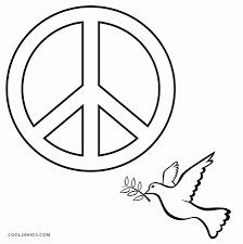 peace sign coloring page hard coloring pages materials coloring