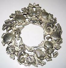 seashell wreath seashell wreath ebay
