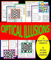 printable optical illusions 10 optical illusions 10 printable worksheets and 23 exles tpt