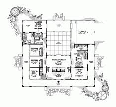 house plans with courtyards floor plan u shaped house plans with courtyard pool u shaped