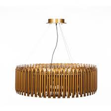 mid century modern matheny suspension chandelier