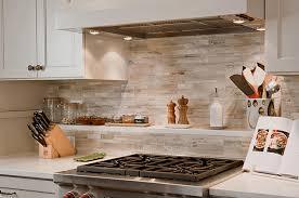 The Kitchen Backsplash Combine Art With Functionality - Stone backsplash