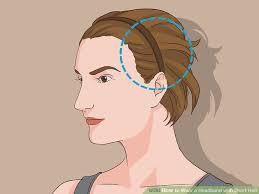 headbands that go across your forehead how to wear a headband with hair 11 steps with pictures