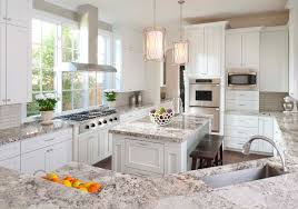 white kitchen cabinets with backsplash decorating mocca kitchen cabinet with santa cecilia granite