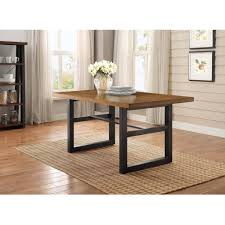 better homes and gardens mercer dining table vintage oak finish