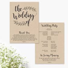 thank yous on wedding programs wedding program thank you wording parents wedding program thank