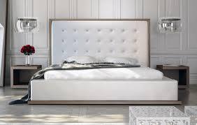 sweet looking leather platform bed excellent ideas modloft ludlow