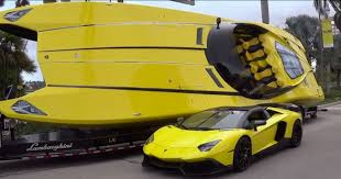 lamborghini limo inside 1 3 million lamborghini boat has 2 700 hp and aventador inspired