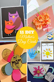 diy mother u0027s day cards featured on kidz activities mother u0027s day