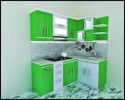 model kitchen set modern model kitchen set modern warna hijau 3 desain dapur minimalis