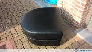 pouf bout de canapé bout de canapé pouf en simili cuir noir a vendre 2ememain be