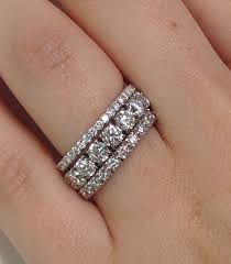 half eternity ring meaning stacked eternity bands from adiamor one for him one for god one