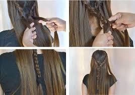 tutorial rambut waterfall 100 chic waterfall braid hairstyles braid styles and hair trends 17
