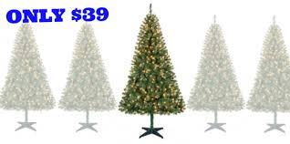 holiday time pre lit 6 5 u2032 madison pine green artificial christmas