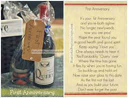anniversary wine bottles basket of firsts for the and groom diy momista beginnings