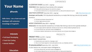 Bold Resume Template by Bold Resume Resume Template Designed By Lubble