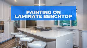 how to paint laminate kitchen cabinets bunnings paint laminate benchtop and save thousands diy renovation hack