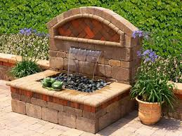 Small Backyard Water Feature Ideas The Beautiful Ideas Of Wall Water Fountains For Homes U2014 Tedx Decors