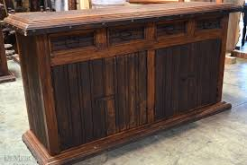 rustic buffet tables rustic dining set mexican furniture demejico