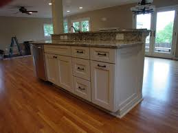 kitchen island with bar top cook bros 1 design build remodeling contractor in arlington