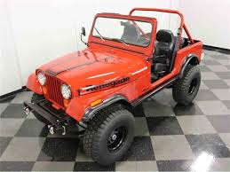 orange jeep cj 1986 jeep cj7 for sale classiccars com cc 1027341