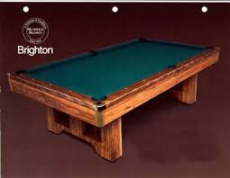 brunswick brighton pool table brunswick brighton 4x8 foot pool table with automatic ball returns
