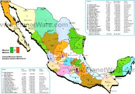 Map Of Oaxaca Mexico Map Of Mexico